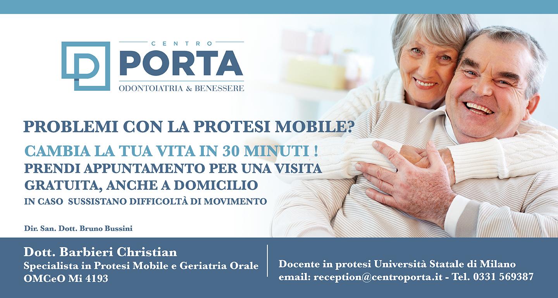 Protesi Mobile dentale busto garolfo